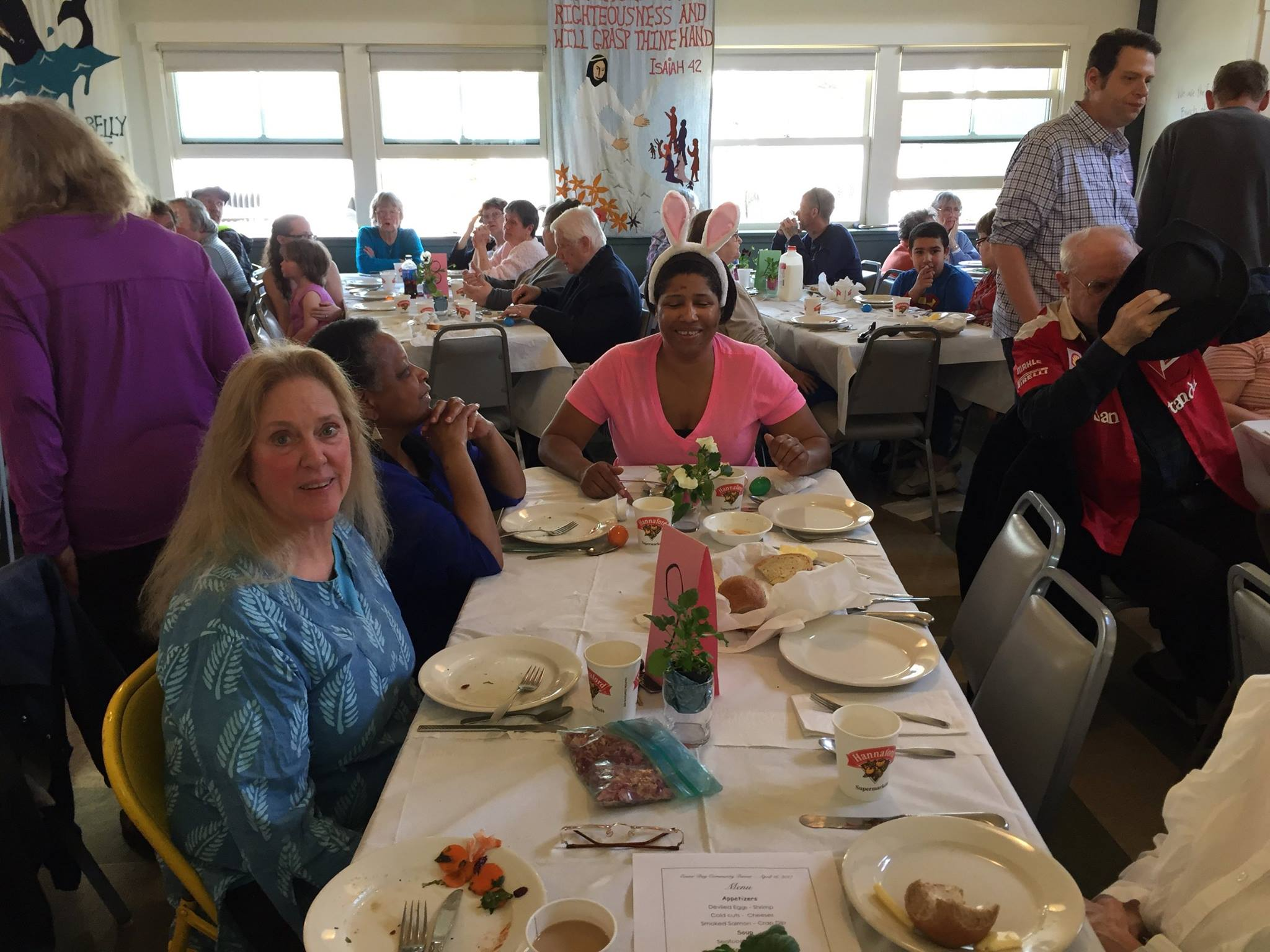 Easter Community Meal - Thank you!
