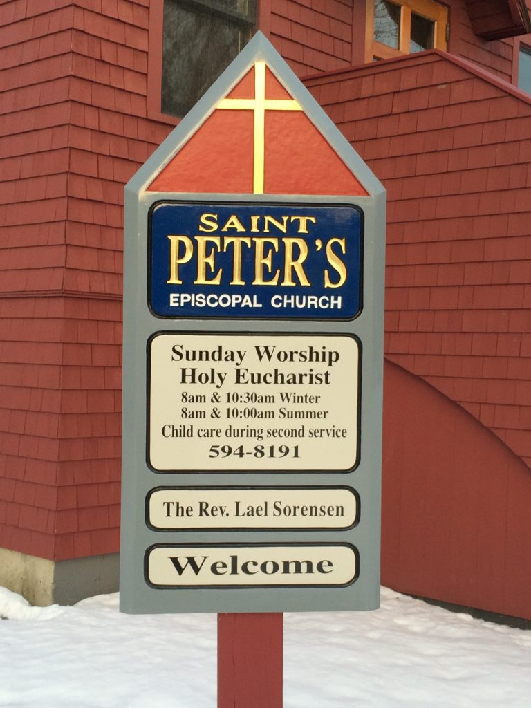 Exterior Sign Saint Peter's