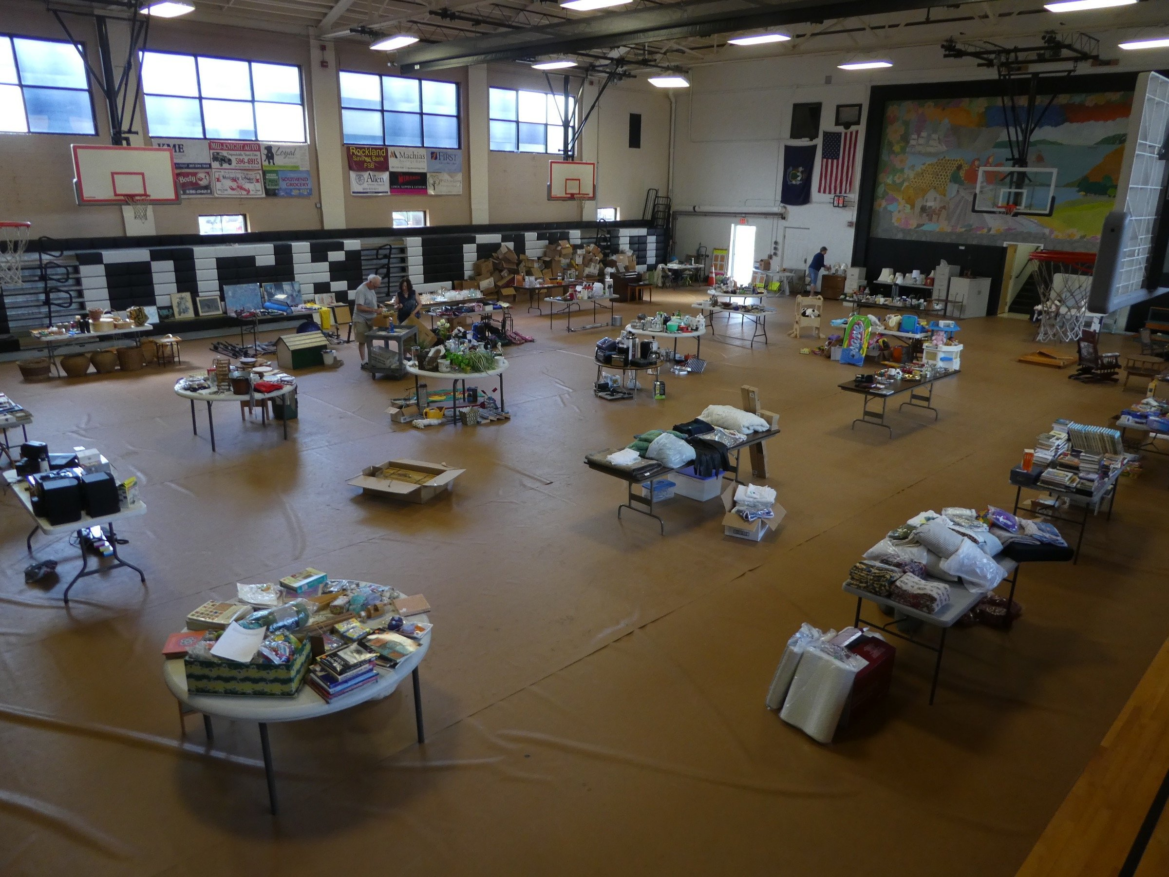 Tag Sale in Rockland Maine