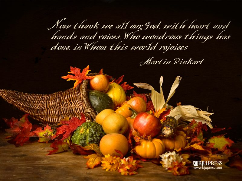 Nov. 23rd Thanksgiving: Community Dinner and Thanksgiving Day Eucharist