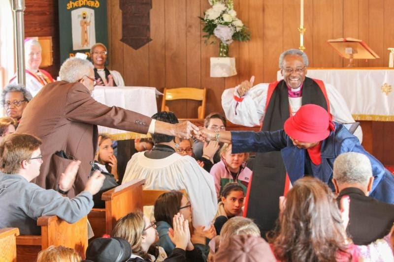 June 23 Presiding Bishop in Maine