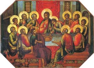 Icon of the Last Supper