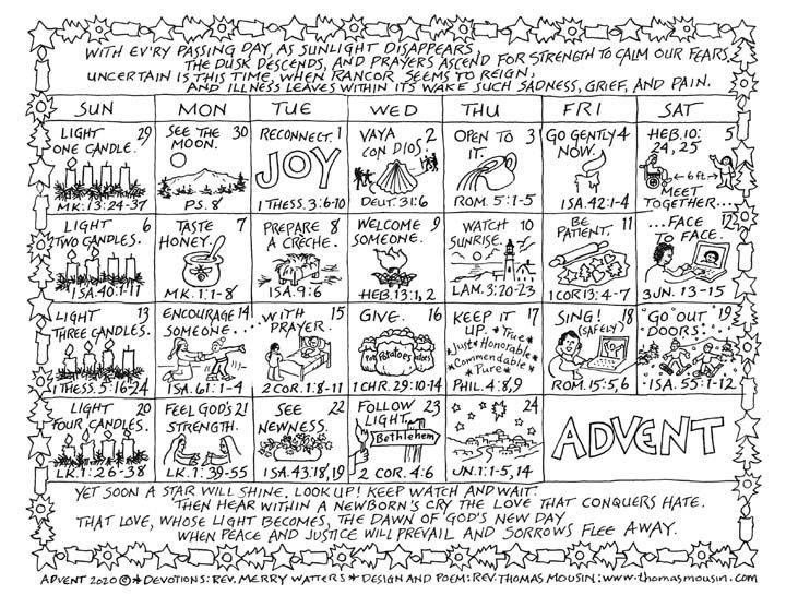 Advebt Calendar